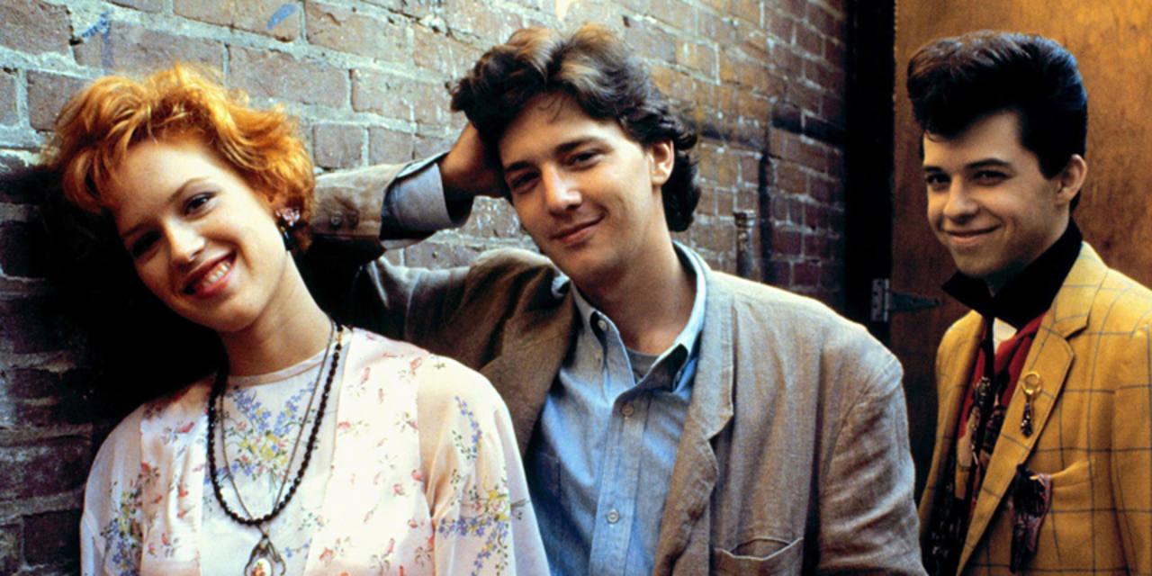 'La chica de rosa' (1985), escrita y producida por Hughes