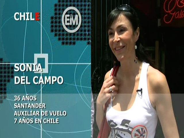 Españoles en el mundo - Chile - Sonia