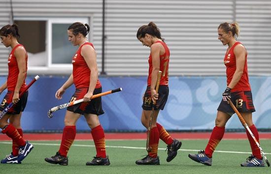 China vence a España en hockey