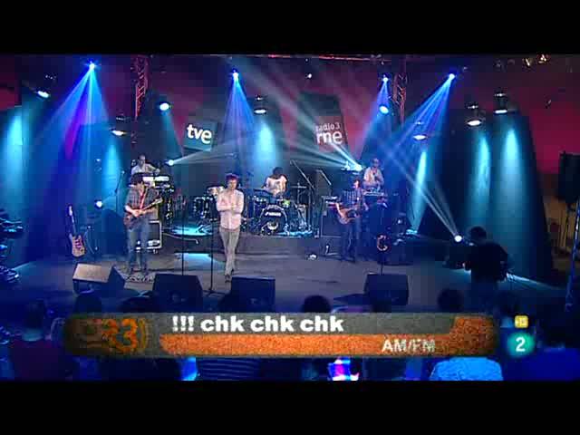 Los conciertos de Radio 3 - Chk,chk,chk!!!!
