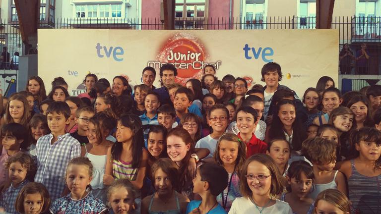 España Directo- ¡La chocolatada de MasterChef Junior!