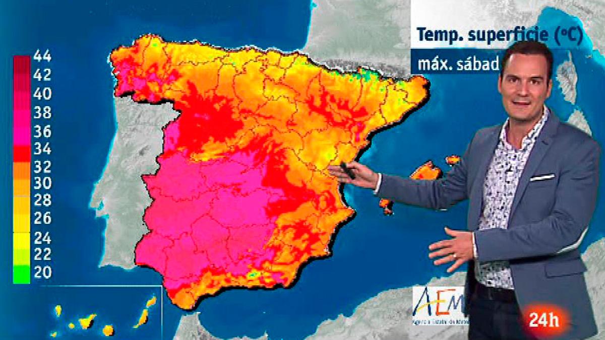 Chubascos en Cataluña y en sierras de Teruel y tiempo estable en el resto del país