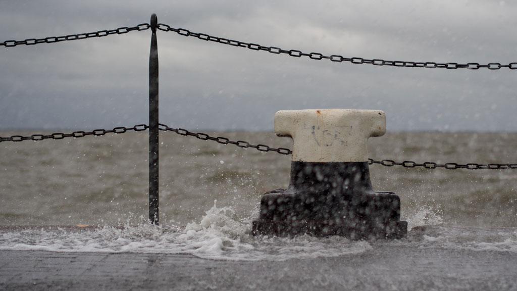 Chubascos persistentes fuertes en el este del país