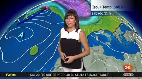 Chubascos y tormentas en Baleares y en el extremo norte peninsular