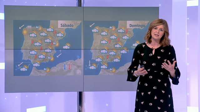 Chubascos y tormentas en Extremadura y en los sistemas Central e Ibérico