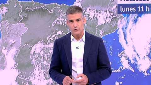 Chubascos y tormentas con probabilidad de que sean localmente fuertes en áreas del sur y del cuadrante nordeste peninsular y en Baleares