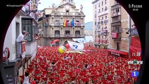El chupinazo da inicio a las fiestas de San Fermín 2018