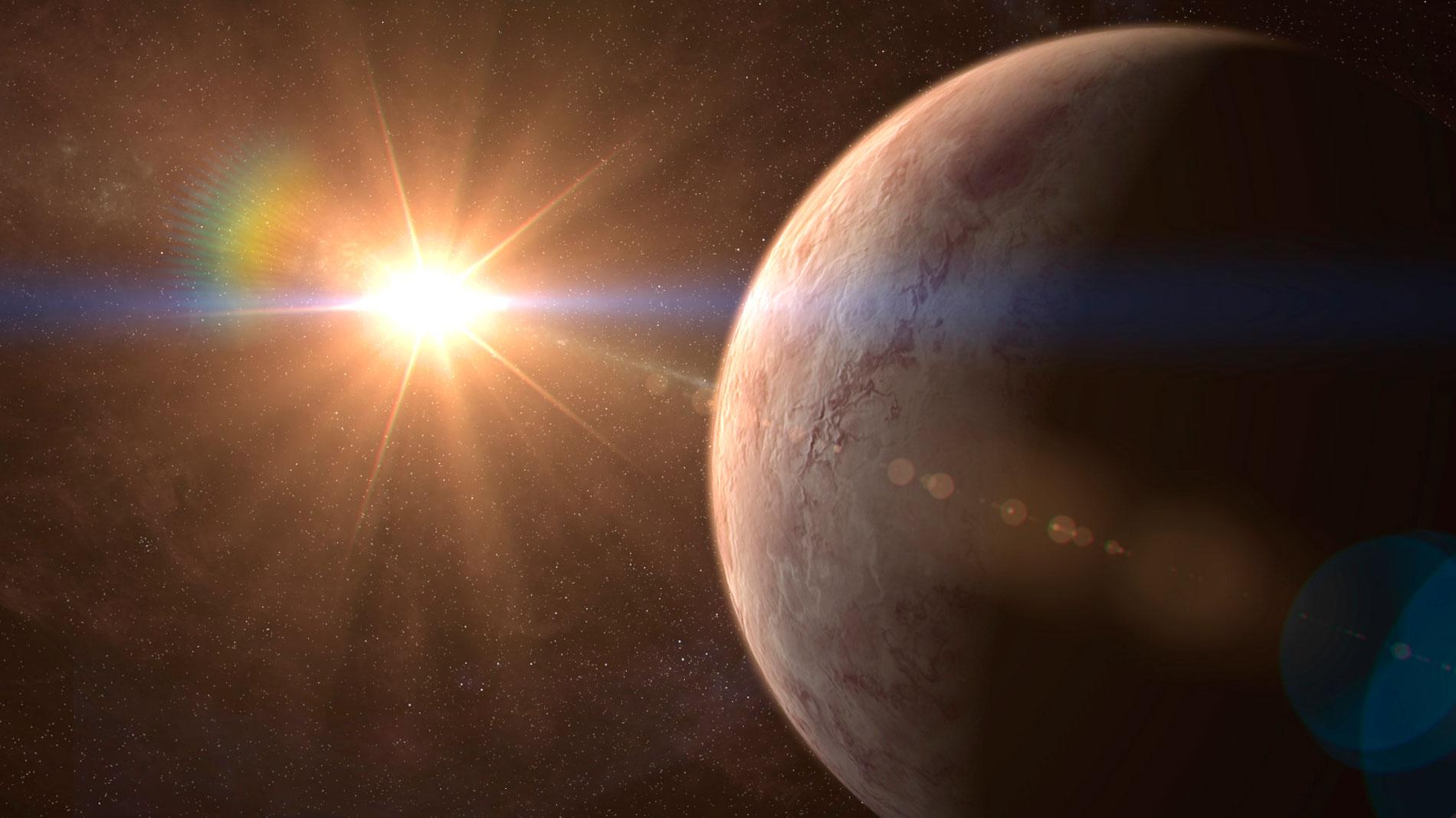 Científicos españoles descubren una supertierra potencialmente habitable