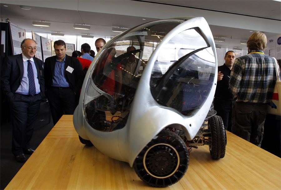 CityCar: el pequeño vehículo unipersonal para el siglo XXI