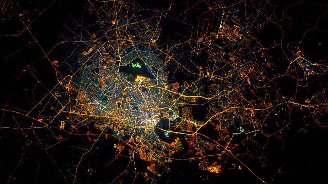 Ciudad Ho Chi Minh, en Vietnam. (SCOTT KELLY)