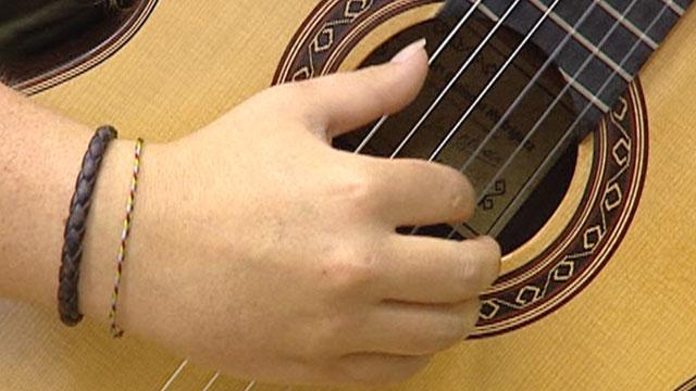 Los maestros de la guitarra clásica imparten clases en Coria