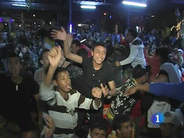 El 'clásico' levanta pasiones en Marruecos