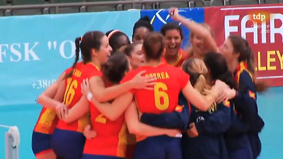 Voleibol - Torneo Clasificación Campeonato de Europa 3ª Ronda Vuelta