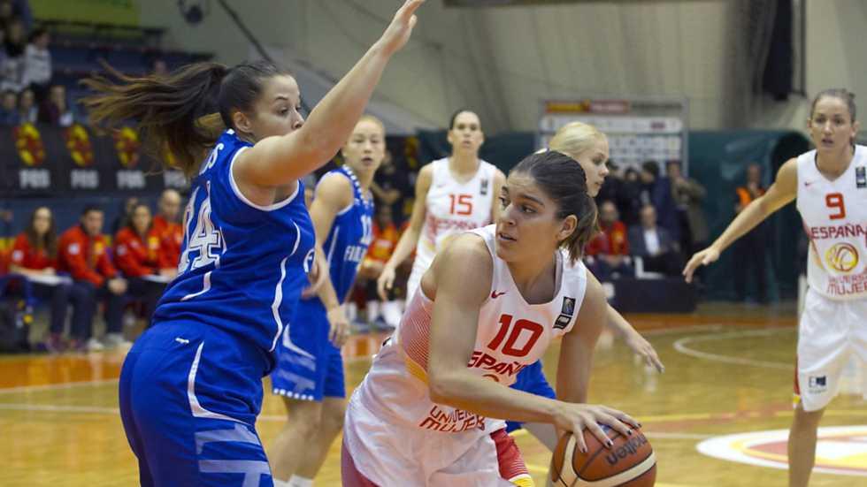 Baloncesto - Clasificación Cto. Europa femenino: España - Finlandia
