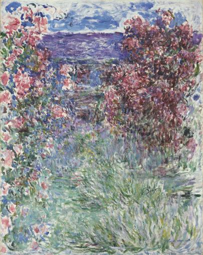 Claude Monet. 'La casa entre las rosas' (1925)