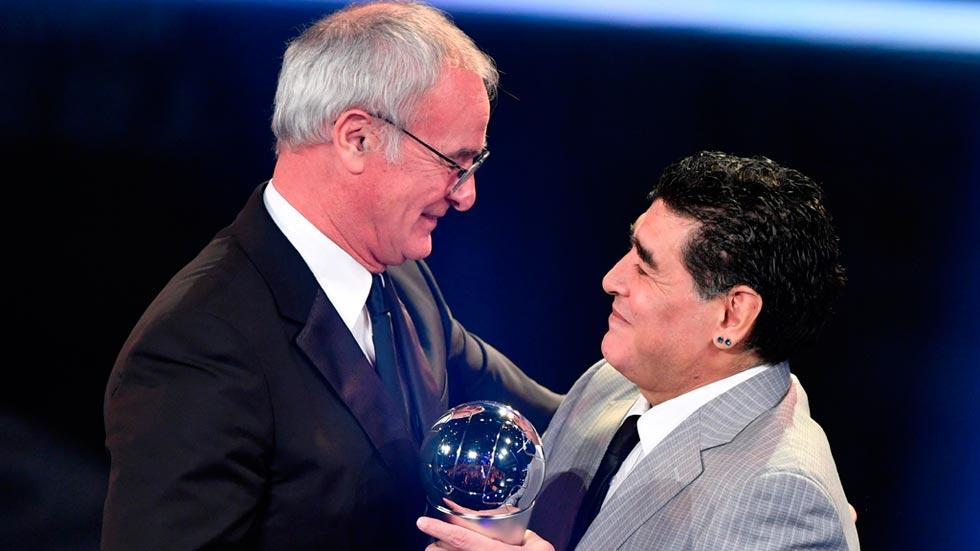 Claudio Ranieri (Leicester), elegido Mejor Entrenador de 2016