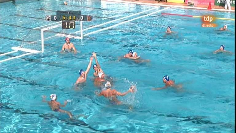 Waterpolo - Liga española: CN Mataró Quadis - CN Sant Andreu - 14/04/12