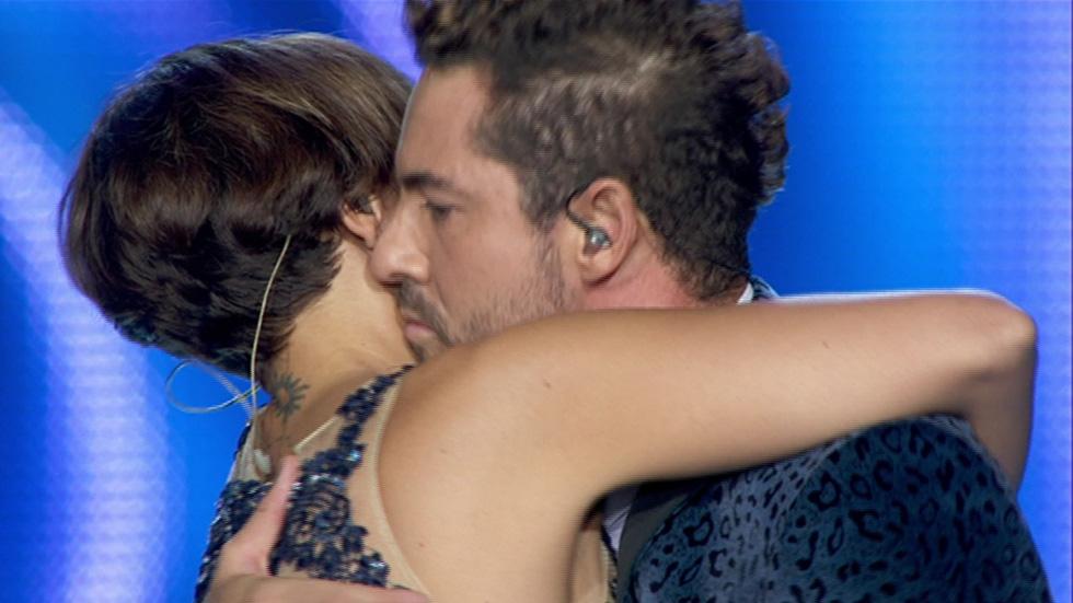 """OT. El reencuentro - La """"cobra"""" de Bisbal a Chenoa en el concierto de OT"""