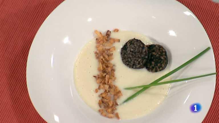C mo preparar morcilla a la plancha con suave de coliflor for La cocina de sergio