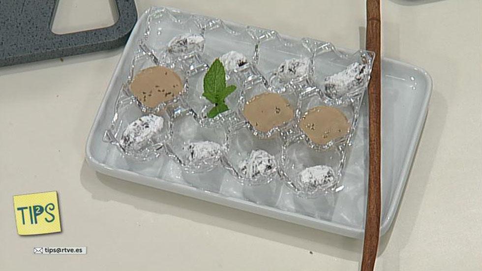TIPS - Cocina - Cóctel de trufas con anís y crema de café