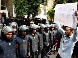 En portada - La cólera de Túnez