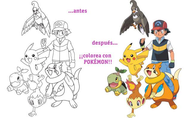 Imagenes para colorear de pokemon negro y blanco - Imagui