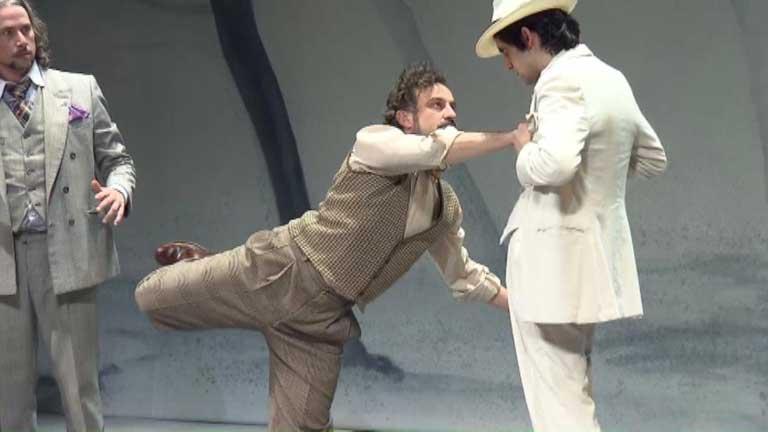 """Una comedia de Shakespeare """"Noche de Reyes"""" se representa en el Teatro de la Abadía de Madrid"""
