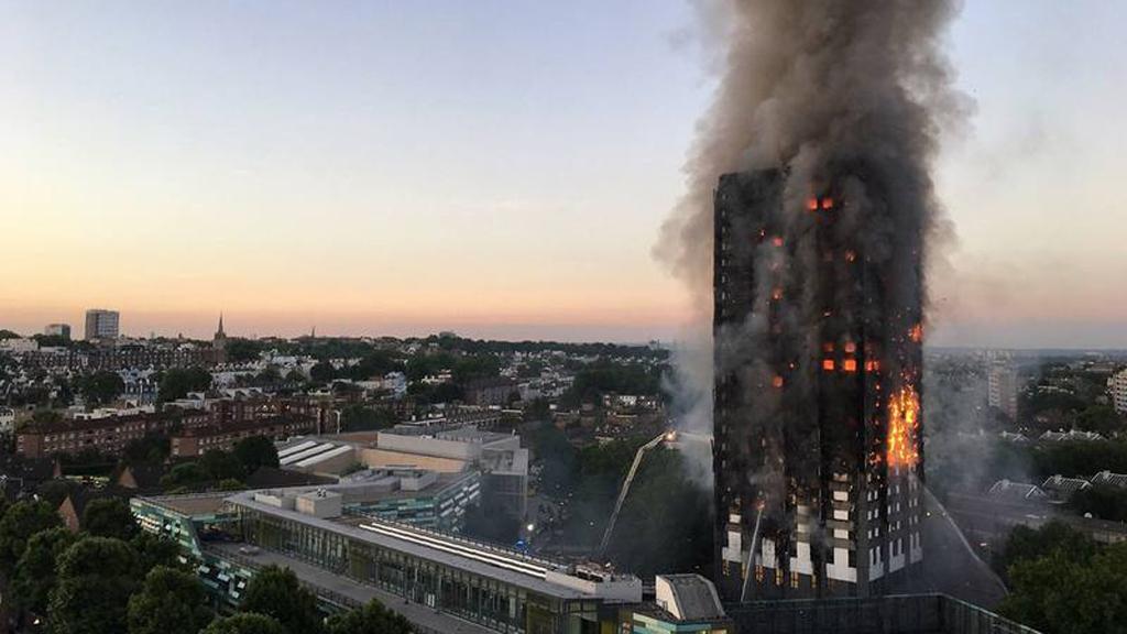 Comienza la investigación oficial sobre el incendio en la torre Grenfell de Londres