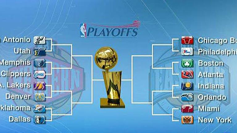 Comienzan los cuartos de final de la NBA