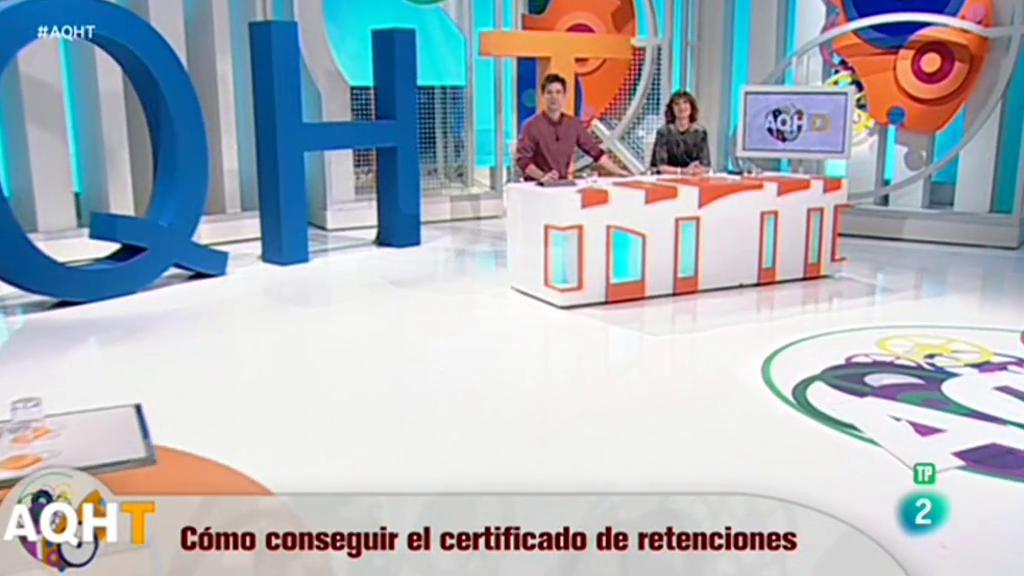 Cómo conseguir tu certificado de retenciones