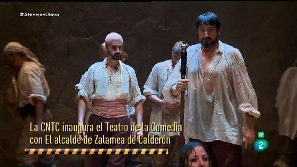 Atención obras -  La Compañía Nacional de Teatro Clásico recupera el Teatro de la Comedia como sede