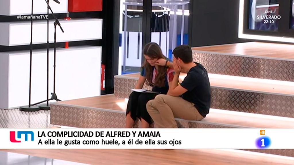 La mañana - La complicidad en OT de Alfred y Amaia