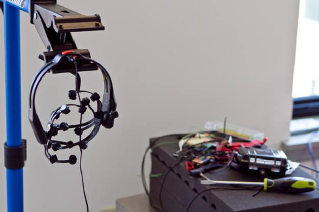 Componentes electrónicos usados en la fabricación del casco
