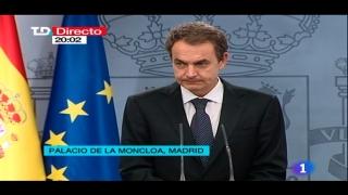 Especiales informativos - Comunicado de ETA: Declaración del presidente del gobierno