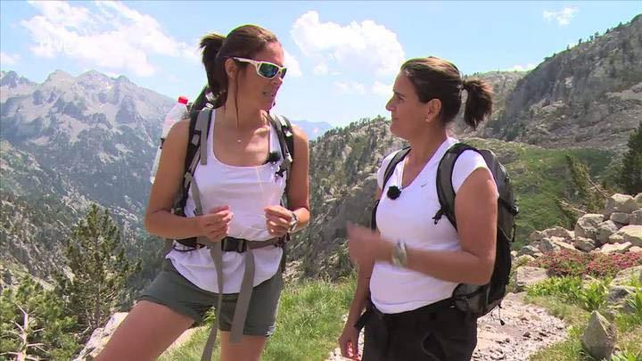Cumbres - Conchita Martínez sube al Pico Tebarray - Avance