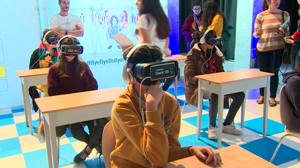 Concienciar del problema del bullying con la realidad virtual