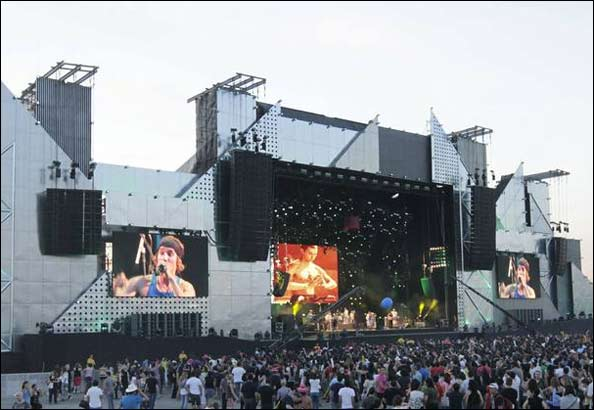 Conciertos de Rock in Rio Madrid 2010