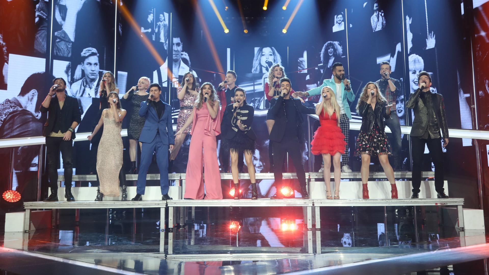 """Operación Triunfo - Los concursantes de Operación Triunfo 2017 cantan """"Camina"""", la canción compuesta por ellos"""