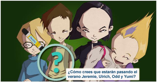 Imagen Ficha de ¡Imagina cómo están pasando el verano los personajes de Código Lyoko!
