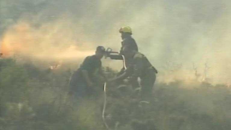 Uno de los excursionistas condenado a dos años de cárcel por el incendio de Guadalajara en 2005