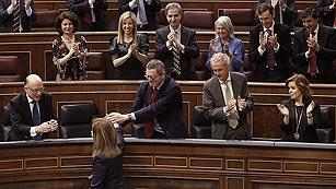 El Congreso convalida la reforma laboral con los votos del PP, CiU, UPN y de Foro Asturias