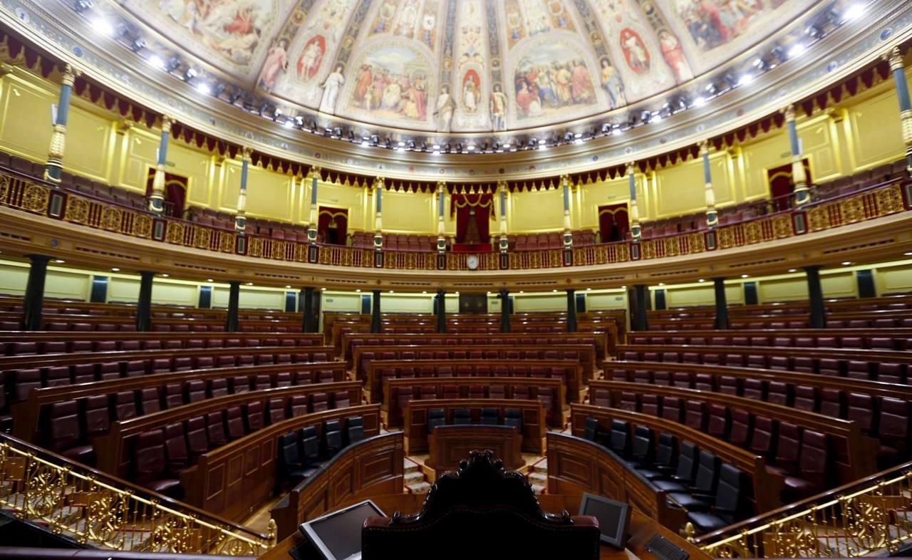 El Congreso, sin diputados