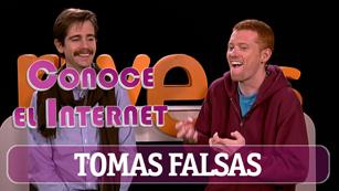 Conoce el internet - tomas falsas
