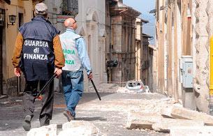 Los constructores en L'Aquila no cumplieron la normativa