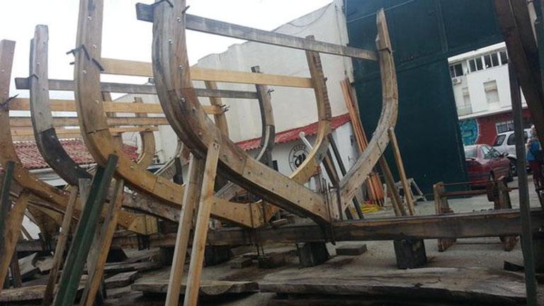 España Directo- Construyendo un barco histórico