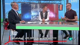 La Aventura del Saber. TVE. Taller de Psicología con Alfredo García Gárate y Guillermo Blázquez.