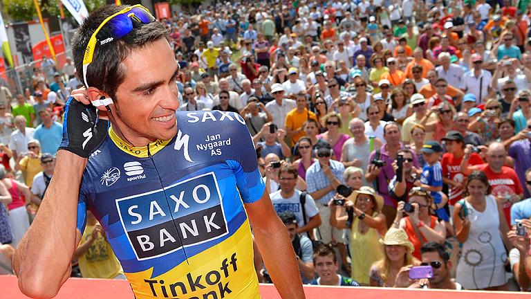 Contador apunta a victoria en Arrate