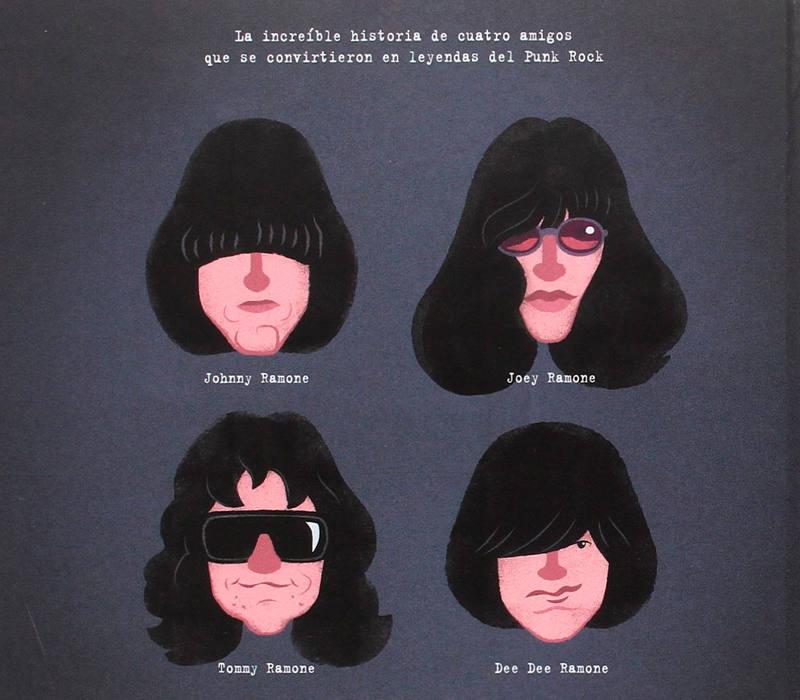 Contraportada de 'Ramones'