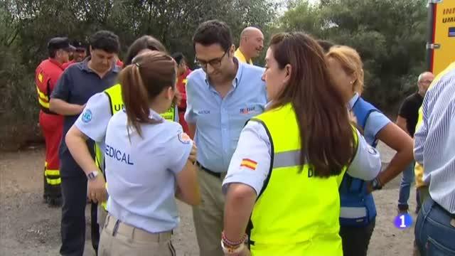 Controlado el incendio forestal de Moguer en Huelva