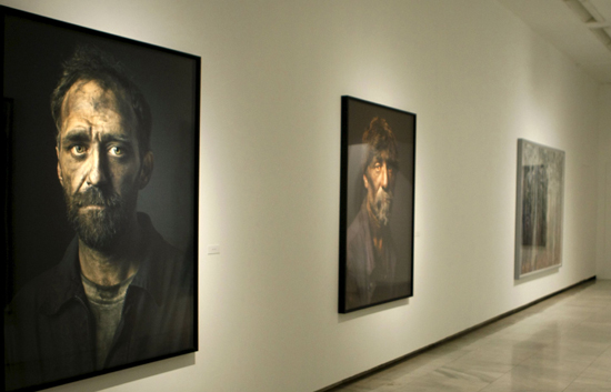 El fotografo Pierre Gonord tiene la capacidad de convertir cada rostro en un paisaje